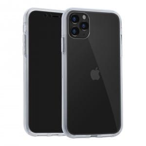 VERUS Full Body 360° Hybrid 2 teilige Hülle iPhone 11 Pro Transparent