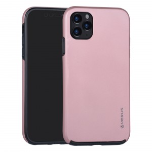 VERUS Full Body 360° Hybrid 2 teilige Hülle iPhone 11 Rose Gold