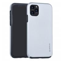 VERUS Full Body 360° Hybrid 2 teilige Hülle iPhone 11 Silber