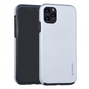 VERUS Full Body 360° Hybrid 2 teilige Hülle iPhone 11 Silber