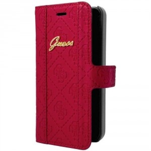 Guess Scarlett Tasche / Book Case für iPhone 6 Plus / 6S Plus Rot
