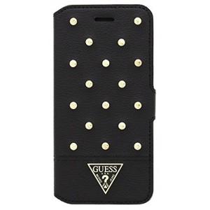 Guess Tessi Tasche / Book Case für iPhone 6 Plus / 6S Plus Schwarz