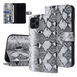 UNIQ 3D Snake Handytasche iPhone 11 Pro Max Schlangenmuster Schwarz / Weiß