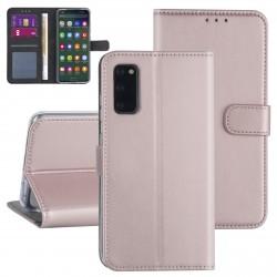Handytasche Samsung Galaxy S20 Rose Gold