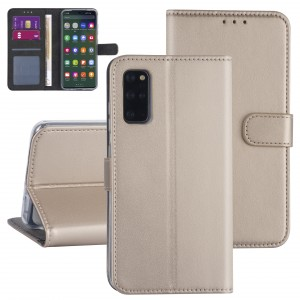 Handytasche Samsung Galaxy S20+ Plus Gold