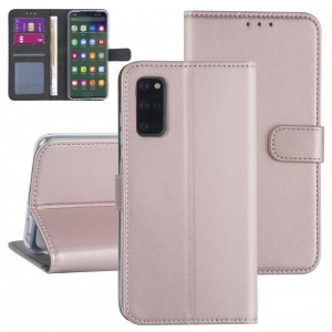 Handytasche Samsung Galaxy S20+ Plus Rose Gold