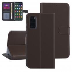 Handytasche Samsung Galaxy S20+ Plus Braun