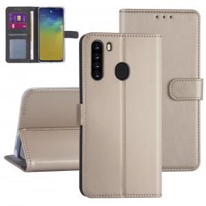 Handytasche Samsung Galaxy A21 Gold