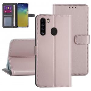 Handytasche Samsung Galaxy A21 Rose Gold