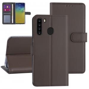 Handytasche Samsung Galaxy A21 Braun