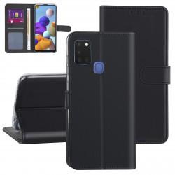 Handytasche Samsung Galaxy A21S Schwarz
