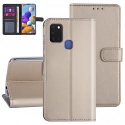 Handytasche Samsung Galaxy A21S Gold
