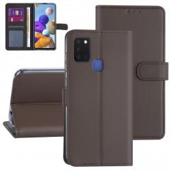 Handytasche Samsung Galaxy A21S Braun