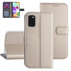 Handytasche Samsung Galaxy A41 Gold