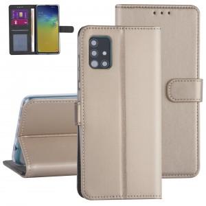 Handytasche Samsung Galaxy A71 Gold