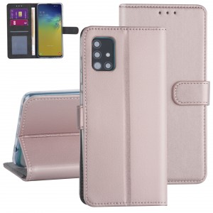 Handytasche Samsung Galaxy A71 Rose Gold