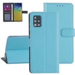 Handytasche Samsung Galaxy A71 Blau