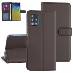 Handytasche Samsung Galaxy A71 Braun