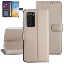 Handytasche Huawei P40 Pro Gold