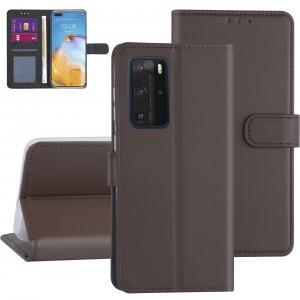Handytasche Huawei P40 Pro Braun