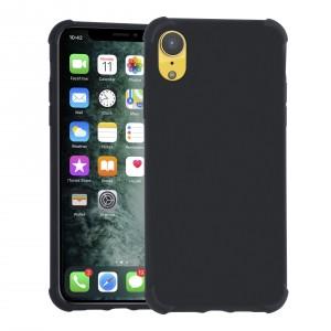 Shockproof Hülle iPhone XR Fallschutz / Kantenschutz Schwarz