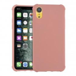 Shockproof Hülle iPhone XR Fallschutz / Kantenschutz Rosa