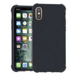 Shockproof Hülle iPhone Xs / X Fallschutz / Kantenschutz Schwarz