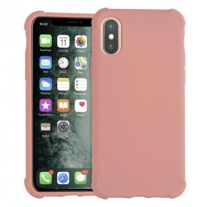Shockproof Hülle iPhone Xs Max Fallschutz / Kantenschutz Rosa