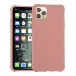 Shockproof Hülle iPhone 11 Pro Max Fallschutz / Kantenschutz Rosa
