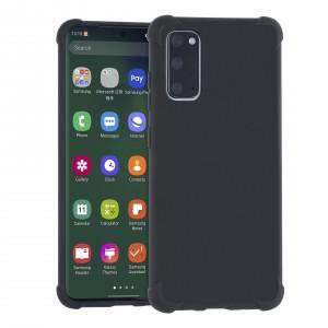 Shockproof Hülle Samsung Galaxy S20 Fallschutz / Kantenschutz Schwarz