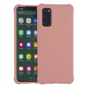 Shockproof Hülle Samsung Galaxy S20 Fallschutz / Kantenschutz Rosa
