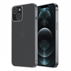 iPhone 13 Hülle Case Cover Slim Silikon Transparent