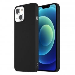iPhone 13 mini Hülle Case Cover Slim Silikon Schwarz