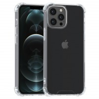iPhone 13 Pro Max Hülle Case Cover Silikon Transparent Kantenschutz