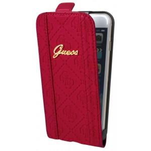 Guess Scarlett Tasche / Flip Case für iPhone 6 Plus / 6S Plus Rot