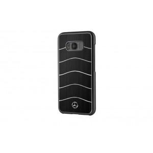 Mercedes Benz WAVE VIII Aluhülle / Cover für Samsung Galaxy S8 Plus Schwarz