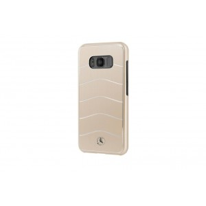 Mercedes Benz WAVE VIII Aluhülle / Cover für Samsung Galaxy S8 Gold