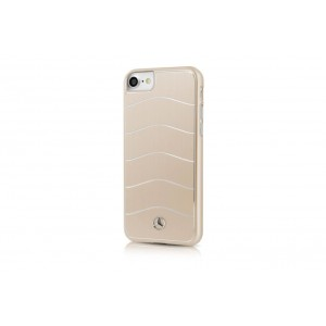 Mercedes Benz WAVE VIII Aluhülle / Cover iPhone 8 / 7 Gold