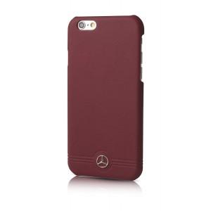 Mercedes Benz Reine Linie Lederhülle iPhone 6 / 6S Rot