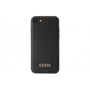 Guess IriDescent Hülle / Cover für Apple iPhone 7 / 8 Schwarz