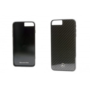 Mercedes Benz Dynamic Carbon Hülle / Cover iPhone 8 Plus / 7 Plus Schwarz