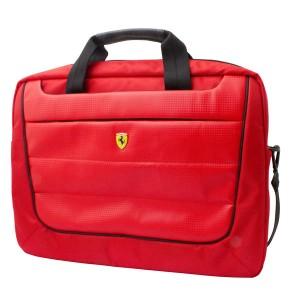 """Ferrari Scuderia Notebook / Laptop Tasche bis 15,6"""" Rot"""