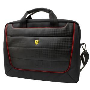 "Ferrari Scuderia Notebook / Laptop Tasche bis 15,6"" schwarz"