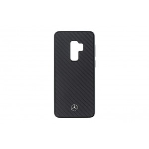 Mercedes Benz Dynamic Carbon Hülle / Cover Samsung Galaxy S9 Plus Schwarz