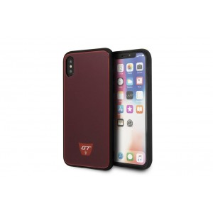 Maserati GranSport GT Hardcover / Hülle für iPhone XS / X Rot