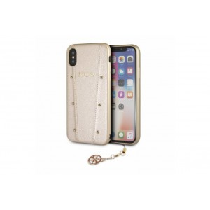 Guess Kaia Hülle / Hardcover für iPhone X / Xs Gold