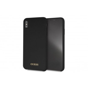 Guess Silicone Cover / Hülle für iPhone XR Schwarz
