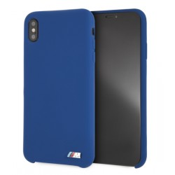 BMW M Serie Silikon Cover / Hülle für iPhone XR Blau