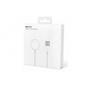 Original Apple MKLG2CH/A Magnetic Ladekabel / Charger für Apple Watch Weiss