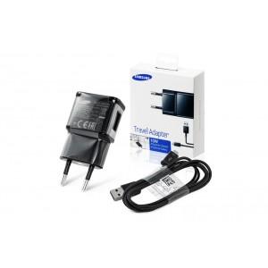 Original Samsung ETA-U90EBE USB Ladegerät 2A + Ladekabel Micro USB Schwarz